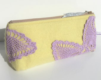 Buttercup yellow make-up/useful case