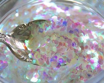 Solvent Resistant Glitter, Irridescent, Nail Glitter, Craft Glitter, BAUBLES
