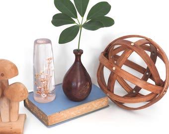 Manzita Wood Hand Carved Weed Pot