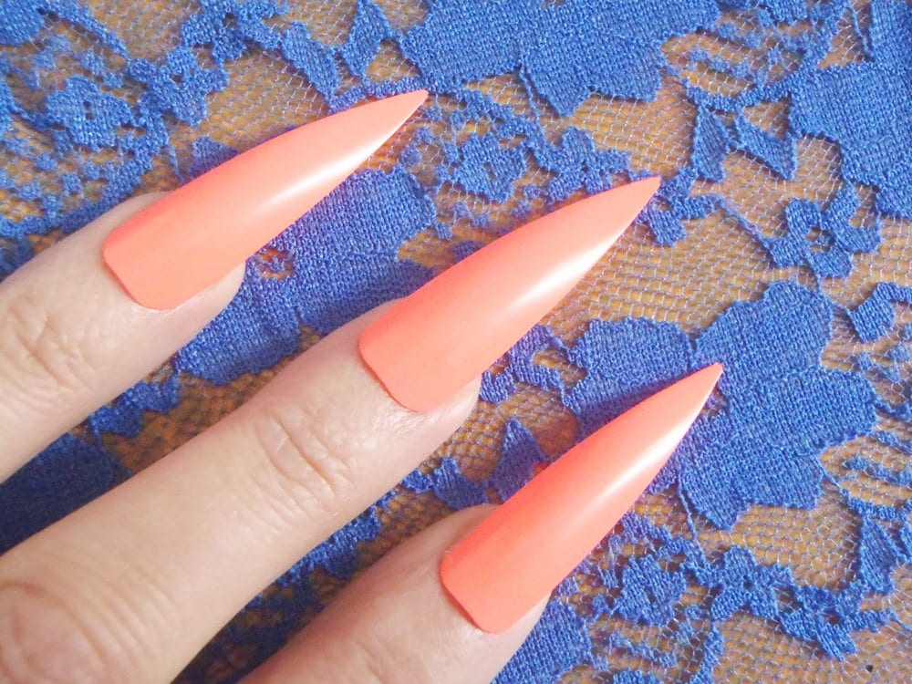 Enchanting Fake Talon Nails Crest - Nail Paint Design Ideas ...