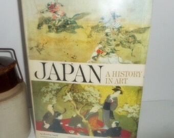 CLEARANCE,Art Book, Japan A History in Art ,  First Edition, Art History Book