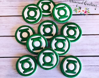 Mr. Lantern Decorated Sugar Cookies