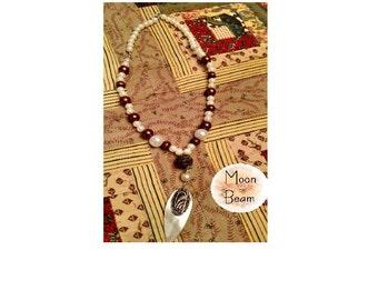 Moon Beam Pendant Necklace