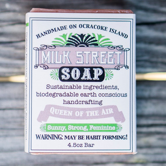Queen of the Air Olive Oil Soap