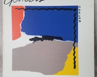 """GENESIS 1981 Abacab (SD 19313) 12"""" Vinyl 33 LP Atlantic Rock Phil Collins Turn It On Again - Misunderstanding - Behind The Lines"""