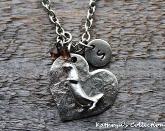 Otter Necklace, Sea Otter, River Otter, Otter Lover Gift, Marine Life