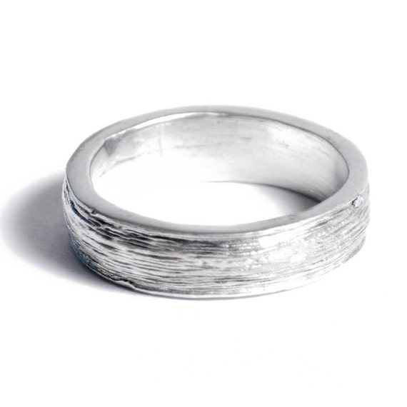 10th Anniversary Gift Ideas For Him: 10th Anniversary Gift Tin Ring For Him 100% Pure Tin Ring