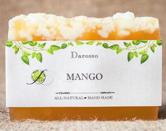 Mango soap, vegan soap, gift for women, homemade soap, natural soap, handmade soap, Gift for him, Gift for her, Luxury Soap, Organic Soap
