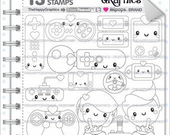 Video Game Stamp, 80%OFF, Commercial Use, Digi Stamp, Digital Image, Video Game Digistamp, Video Digistamps, Technology  Digital Stamps