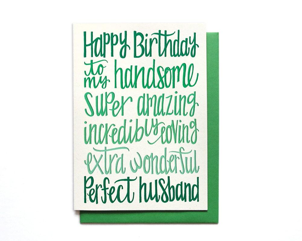 il_fullxfull.818929784_siez?version=0 husband birthday card happy birthday to my handsome