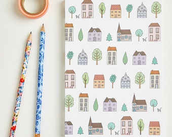 Large Town Houses Notebook