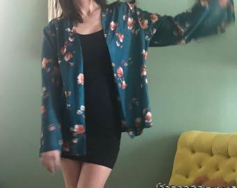 Vintage Floral Kimono/Jacket