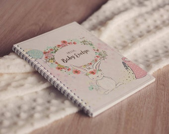 Personalized Baby Journal Baby Girl Record Book Baby album Baby diary