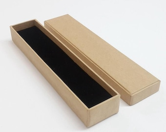 10 x New Necklace Box/ Kraft Necklace Box /blank jewelry box/ Gift Box /Necklace kraft paper boxes TZ746