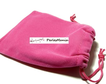 Finish jewelry 10 (120 by 90mm) pink Velvet Gift bags