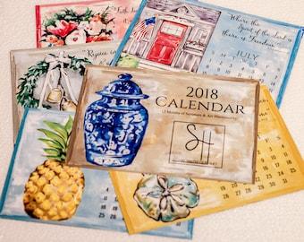 2018 Scripture & Art Calendar Card Refill Set