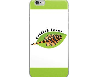 Pleco Catfish iPhone Case - Aquarium Fish Lover - Catfish Lover - Clown Pleco