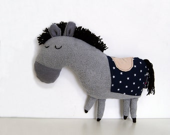"THE ROYAL PONY, stuffed animals, stuffed pony, stuffed horse, baby gift ideas, baby shower gift, kids toys, stuffed toys,  13"" 33 cm"