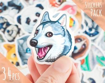 telegram stickers animals sticker funny stickers sticker set cute stickers stickers and decals stickers bomb stickers decals sticker hasky