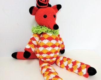 Funky Fox - Amigurumi Toy - Crochet Toy