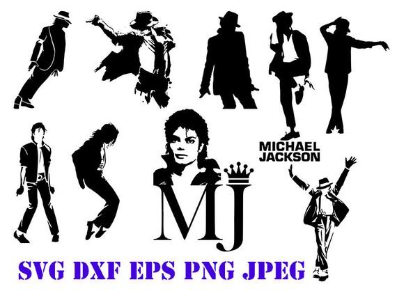 Michael Jackson svg celebrity svg celebrity clipart michael