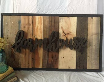 Aged Wood Wall Art