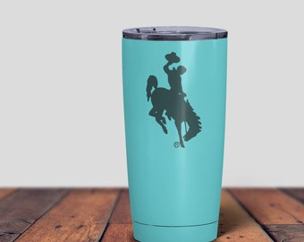 Coffee Tumblers, 20oz Tumblers, Coffee Mug, Travel Mug, Wyoming Coffee Mug, Colored Coffee Mug, Wyoming Tumbler, Wyoming Mug, Wyoming Fans,