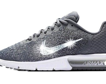 Last pair sz 10 Women's Bling Nike Air Max Sequent - Perfect Gift - Nike  Shoes