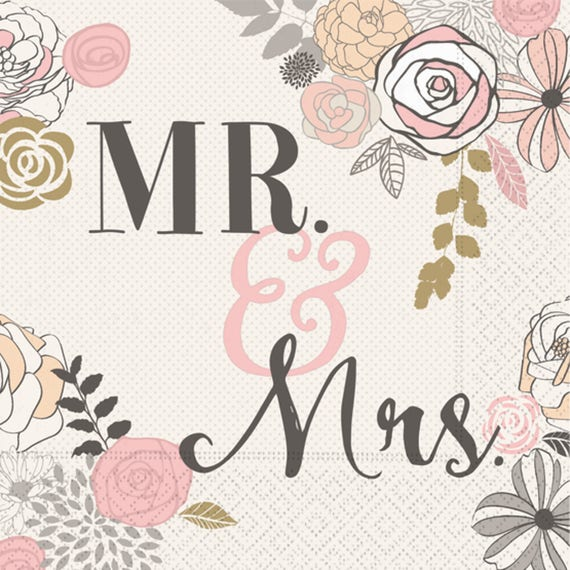 Mr \u0026 Mrs Paper Plates / Pink and Gray Paper Plates / Pink and Gray Plate / Bridal Shower Paper Plate / Mr. and Mrs.  sc 1 st  Etsy & Mr \u0026 Mrs Paper Plates / Pink and Gray Paper Plates / Pink and