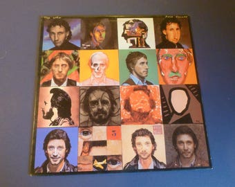 The Who Face Dances Vinyl Record LP HS-3516 Goldshower Limited Warner Bros. Records 1981