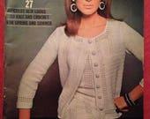 Vintage Vogue Knitting Pa...