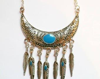 Necklace: Feather