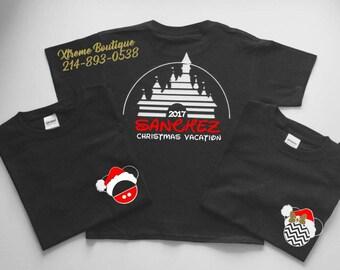 Disney Christmas Shirts, Disney World Christmas  Shirts, Disneyland Christmas  Shirts, Christmas  Family Disney Shirts