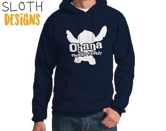 Ohana means Family lilo and stitch Disney Hoodie, Disneyland Pullover  hoodie, Disney World Hoodie