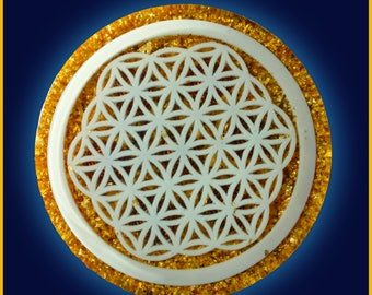 Flower of Life Clearing Plate