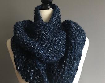 Knit Scarf, Scarf, Infinity Scarf, Knit Infinity Scarf, Chunky Knit Infinity Scarf, Chunky Knit Scarf