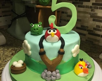 Angry Birds Cake Toppers for MONIE