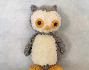 Henry the crocheted owl by Hiboutique