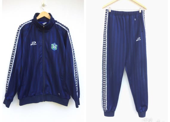 Vintage PIKO Tracksuit Rubber Tape Spellout Big Logo. Surfwear Tracksuit. Piko Jacket. Piko Trainer Sportwear AsuQoFTqiv
