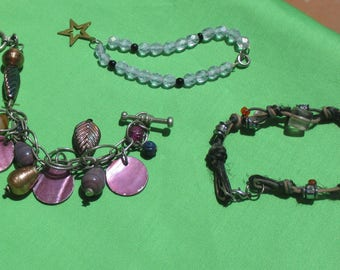 Retro Beaded & Rope Bracelets TLC