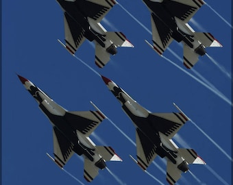 Poster, Many Sizes Available; United States Air Force Thunderbirds