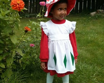 Strawberry Shortcake costume Hat is included