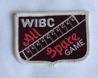 WIBC Vintage Bowling  Award Patch