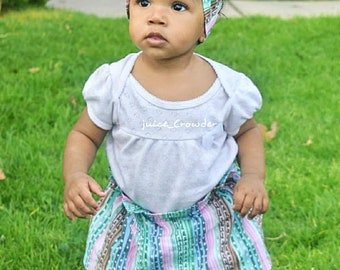 Cactus Headwrap- Cactus Head Wrap; Cactus Headband; Cactus Bow; Big Bows; Bow Headband; Mommy and Me; Head Wrap; Headwrap; Baby Headband