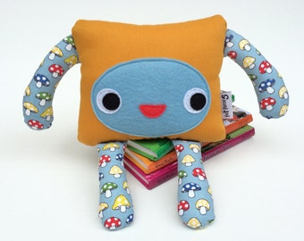 Plushie Monster Softie, Friendly Felt Monster