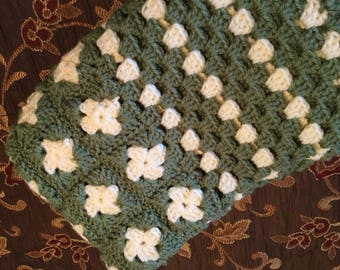 In stock! Crocheted Baby Blanket