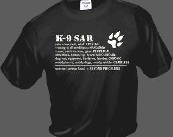 k-9 sar priceless