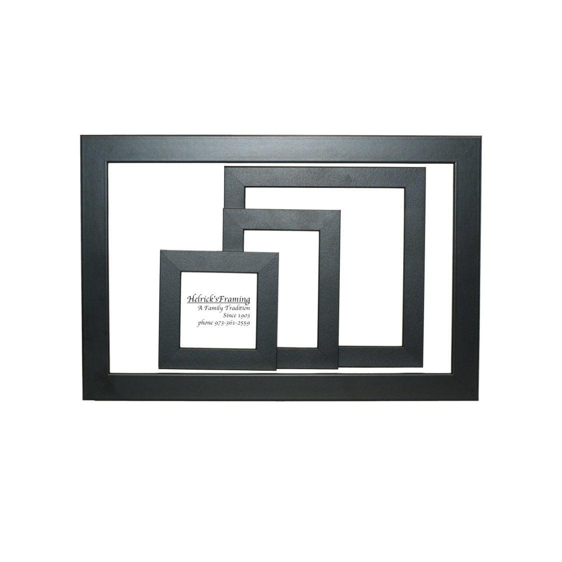 Black picture frames 4x4 4x6 5x5 5x7 6x6 7x7 8x10 85x115 zoom jeuxipadfo Choice Image