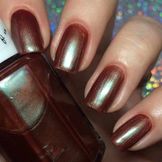 Pato ajenjo amargo esmalte de uñas marrón esmalte de uñas