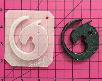 ON SALE Baby Alien flexible plastic resin mold